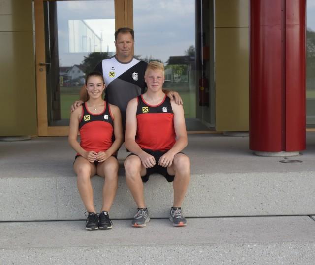 Isabel Posch und Pascal Kobelt bei der U18 EM in Tiflis dabei
